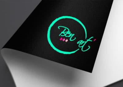 réalisation logotype entreprise ben art