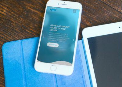 site-internet-conception-mobile-apnea-academy